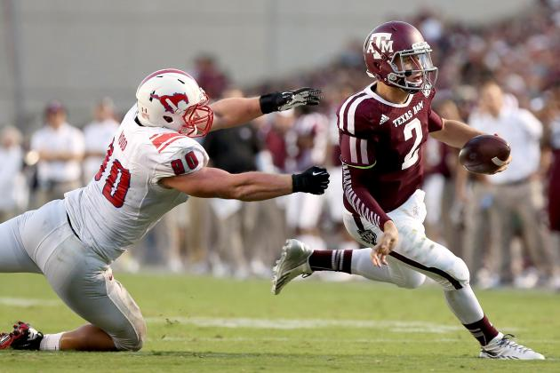 Texas A&M vs. Arkansas: Predicting Johnny Manziel's Stat Line