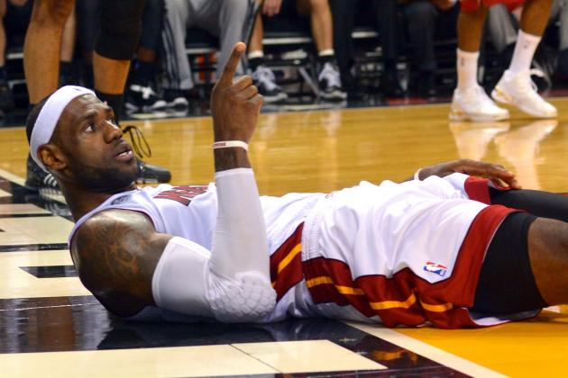 Can the NBA Cure the Flopping Epidemic, or Is It Part of the Game?