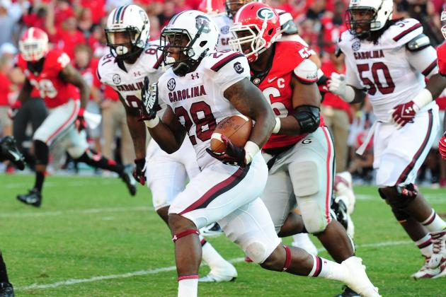 South Carolina Football: 3 Things Mike Davis Must Do to Secure All-SEC Honors