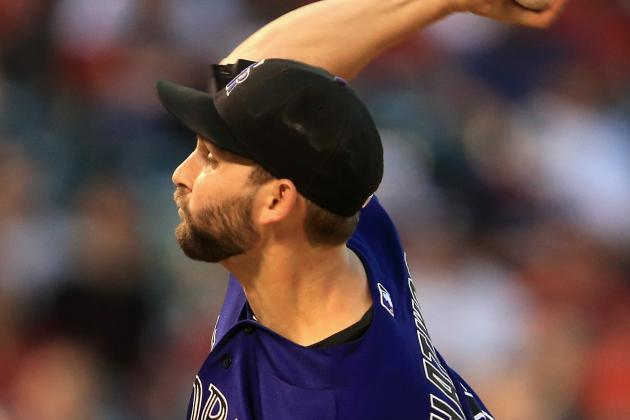 Chatwood Leads Rockies to 8-3 Win over Red Sox