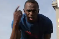 Video: Usain Bolt Tells Tony Parker His Jumper 'Sucks'