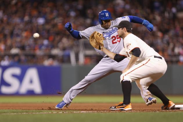 Kemp, Puig Power Dodgers to 2-1 Win over Giants