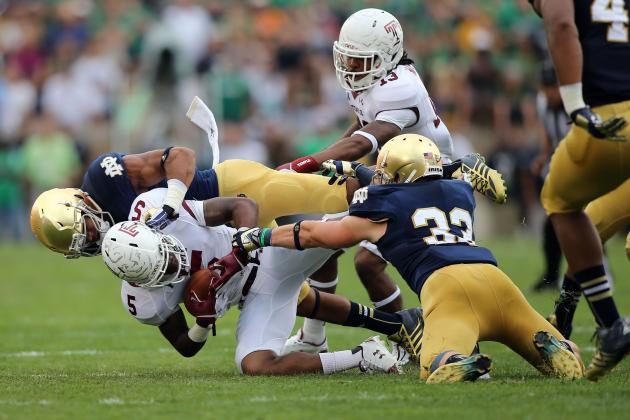 Notre Dame's Redfield Starting to Push for Playing Time