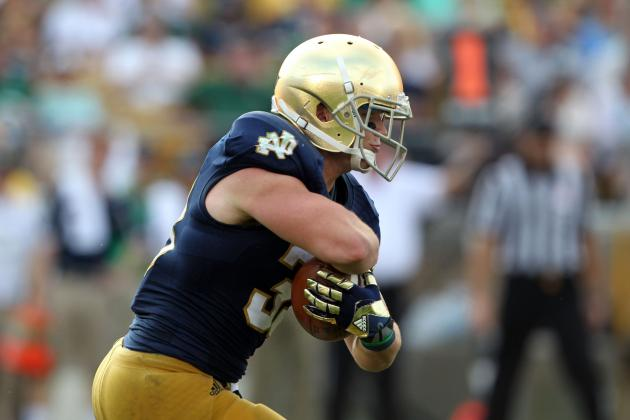Notre Dame Run Game Still Trying to Get Going