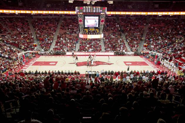 Arkansas' Bud Walton Arena Damaged Due to Flooding