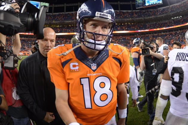 Another AFC Offensive Player of the Week for Peyton Manning