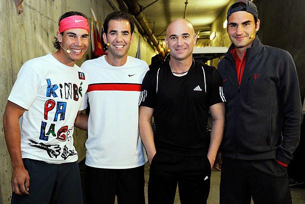 Agassi: Roger Federer 'A Class Above' Pete Sampras
