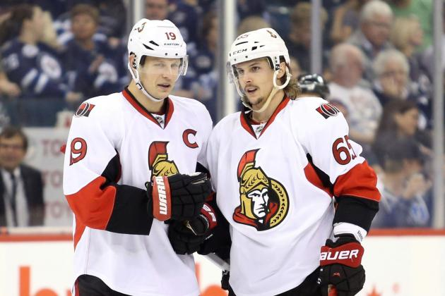 No Spezza, No Anderson Against Montreal Wednesday