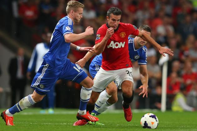 Robin van Persie's Absence Will Be Too Much for Red Devils to Overcome vs. Reds