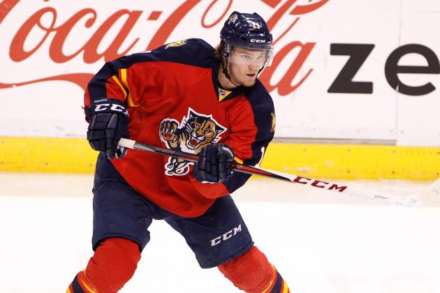 Panthers Will Rely 'Heavily' on Huberdeau in Sophomore Season