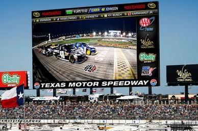 Texas Motor Speedway to Install Largest HD Video Screen in Sports