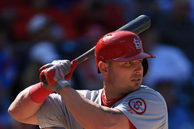 Matt Holliday Returns to Lineup After 3-Game Absence Today vs. Nationals