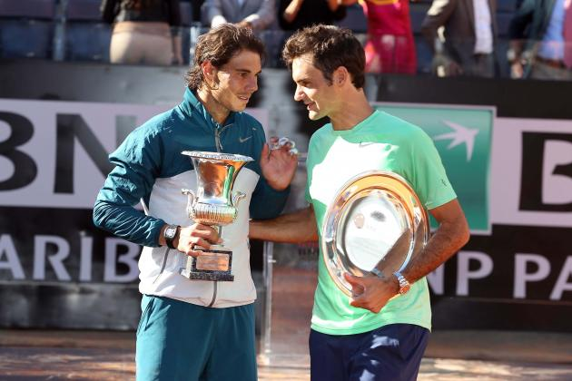 Nadal Compares Rivalry with Federer and Djokovic