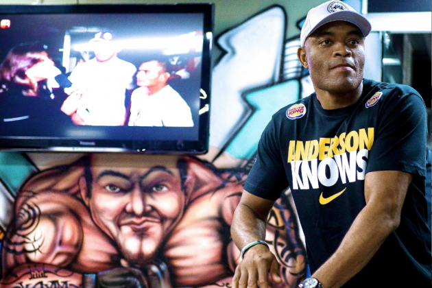 Anderson Silva Still an Enigma in Promotion Ahead of Rematch with Weidman