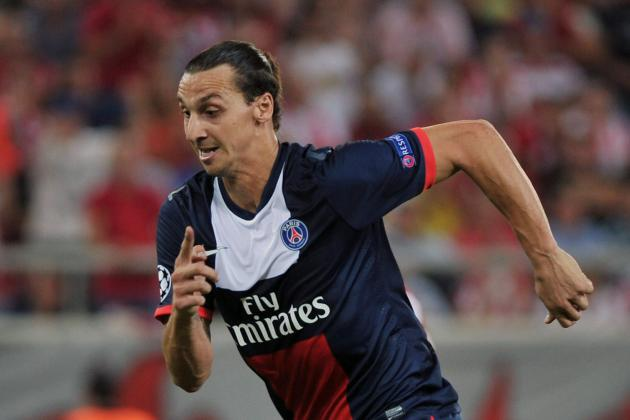 Football: Ibrahimovic and Cavani Link Up to Rescue Labouring PSG