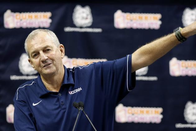 Jim Calhoun's Former Players Talk Up Their Coach (VIDEO)