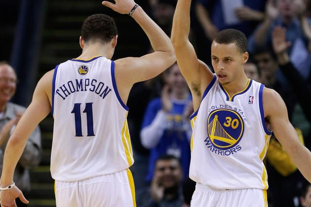 Exclusive: Warriors Stephen Curry, Klay Thompson Sit Down with NBA Dads
