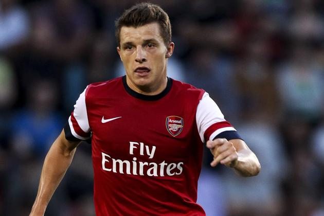 GIF: Thomas Eisfield Scores 1st Arsenal Goal in Capital One Cup Clash vs. WBA