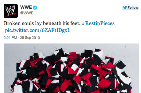 WWE Posts Cryptic Tweet