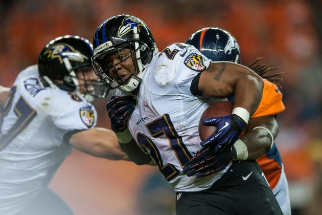 Ray Rice's Likely Return to Ravens Lineup Doesn't Make Him Must-Start Fantasy RB