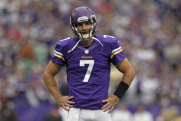 Christian Ponder Injury: Vikings QB Must Play to Save Starting Job