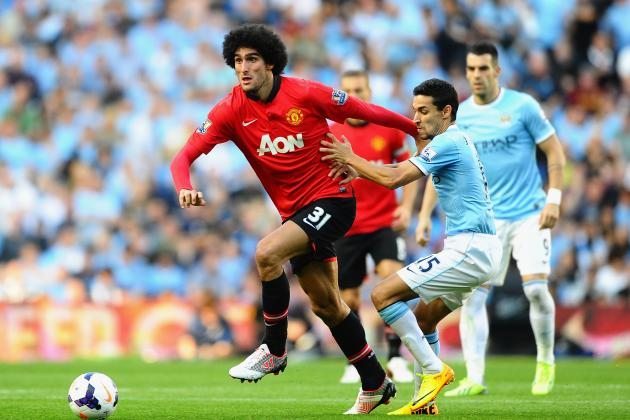Manchester United: Assessing Marouane Fellaini's Early Impression at the Club