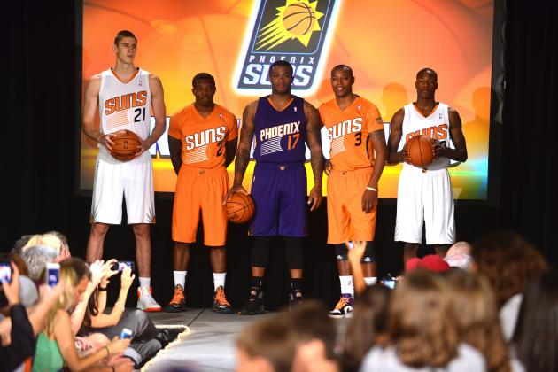 Phoenix Suns Training Camp 2013: Roster Projections, Team Analysis and Preview