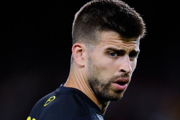 Barcelona's Gerard Pique Compares Real Madrid Penalty to Comedy Film on Twitter