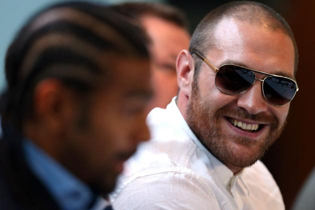 Tyson Fury Opens Up on 'Wannabe Bollywood Actor' David Haye