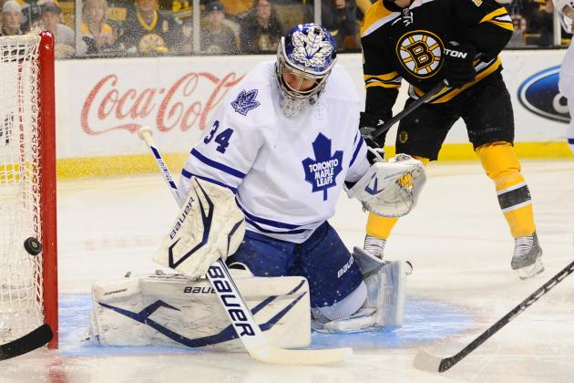 David Clarkson, Goalies Are Issues for Toronto Maple Leafs