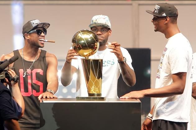 Chris Bosh on Future of Miami Heat Big 3: 'Everything Depends on This Season'