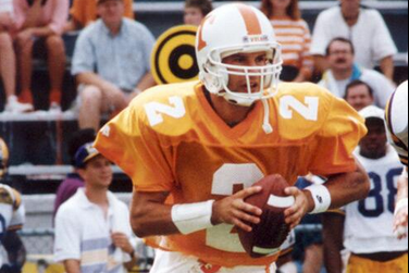 Image: Helton in Action in '93...as a QB at Tennessee