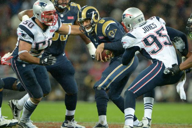 Battle in the Trench Presents Patriots' Best Chance to Slow Down Falcons Offense