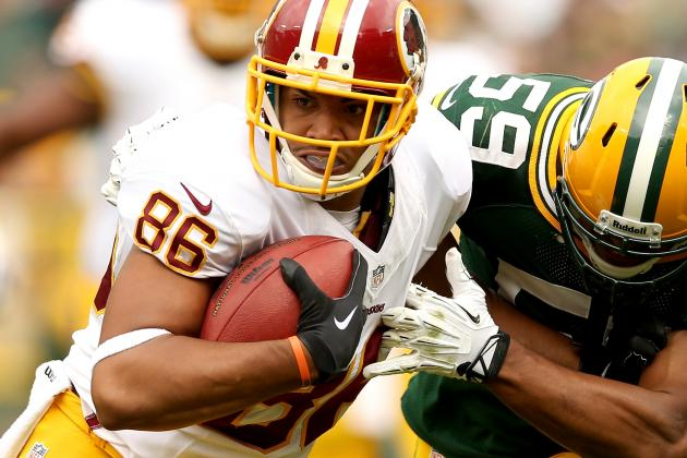 Redskins' Jordan Reed (quad) Still Hurting