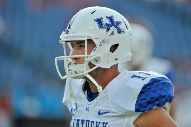 UK QB Maxwell Smith Returns to Practice After Shoulder Injury