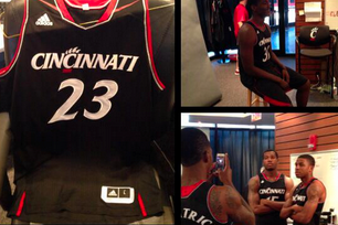 Photo: Here Are Cincinnati's New 2013-14 Basketball Uniforms
