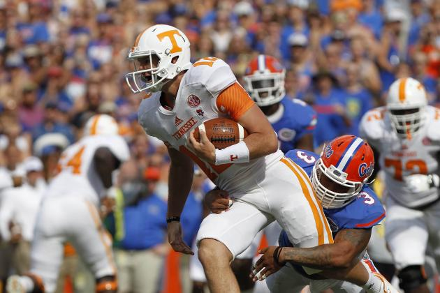 Tennessee Football: Vols' Offensive Struggles Start Up Front