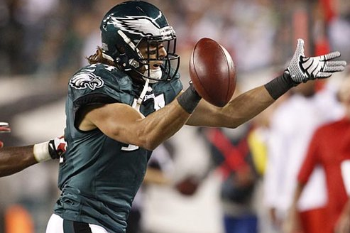 Chip Kelly Defends Riley Cooper, Says He's Doing 'An Unbelievable Job'