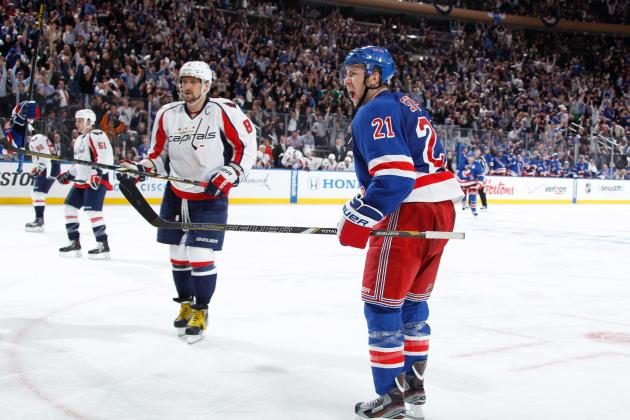 NY Rangers Sign Derek Stepan to 2-Year, $6.15 Million Deal