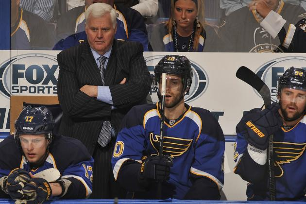 Blues Have a Crowd Vying for Fourth Line