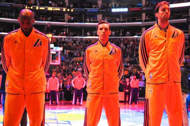 Los Angeles Lakers Facing an Unprecedented Identity Crisis