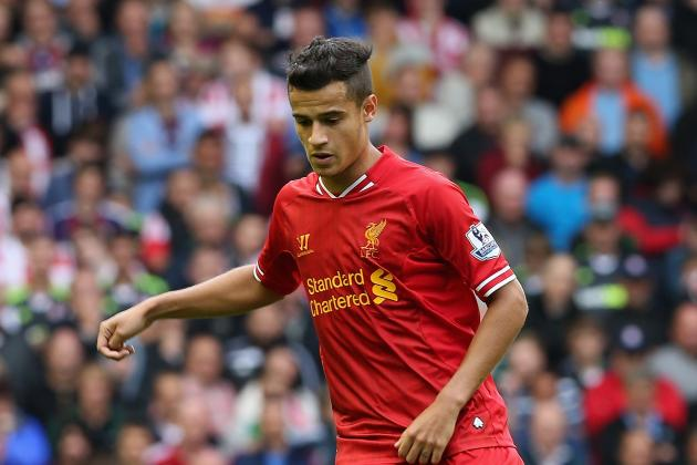 How Liverpool Midfielder Coutinho Could Fit into Scolari's Brazil XI