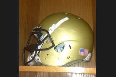 Photo: Georgia Tech Releases Throwback Helmets for Tonight's Game