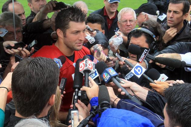 Tim Tebow Would Only Be a Distraction for Jaguars