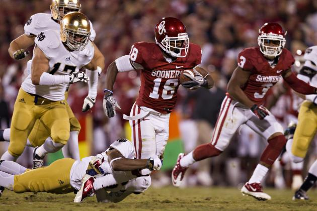 Oklahoma vs. Notre Dame: Top Players to Watch in Saturday's Showdown
