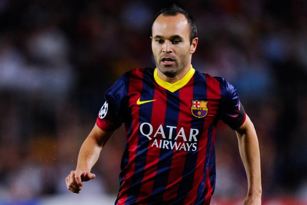 Iniesta Restates Desire to Stay at Barcelona