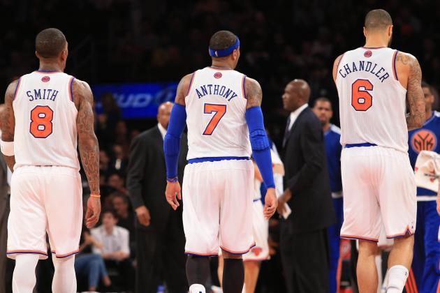 New York Knicks Players Under the Most Pressure in 2013-14