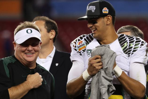 Breaking Down Oregon QB Marcus Mariota's Heisman Shot and NFL Prospects
