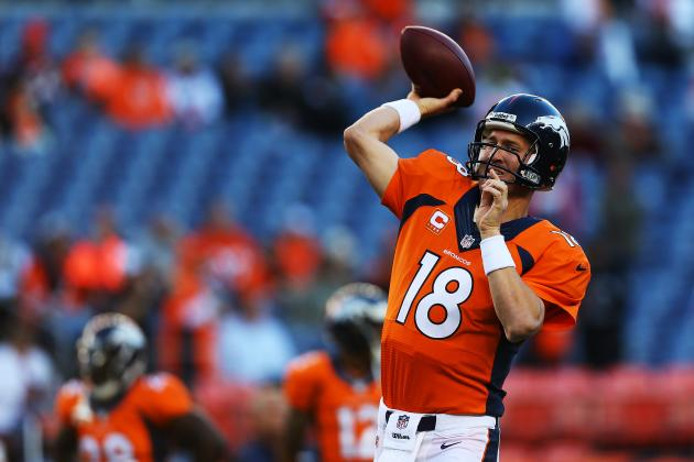 Peyton Manning's Amazing Supporting Cast Will Help QB to MVP Award