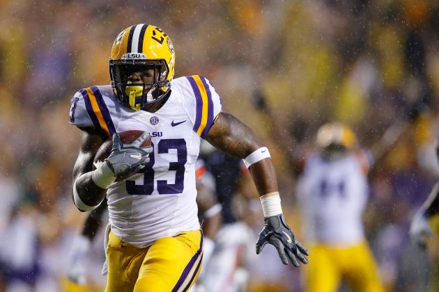 LSU Football Film Study: Why Les Miles Needs Jeremy Hill at RB to Win the SEC